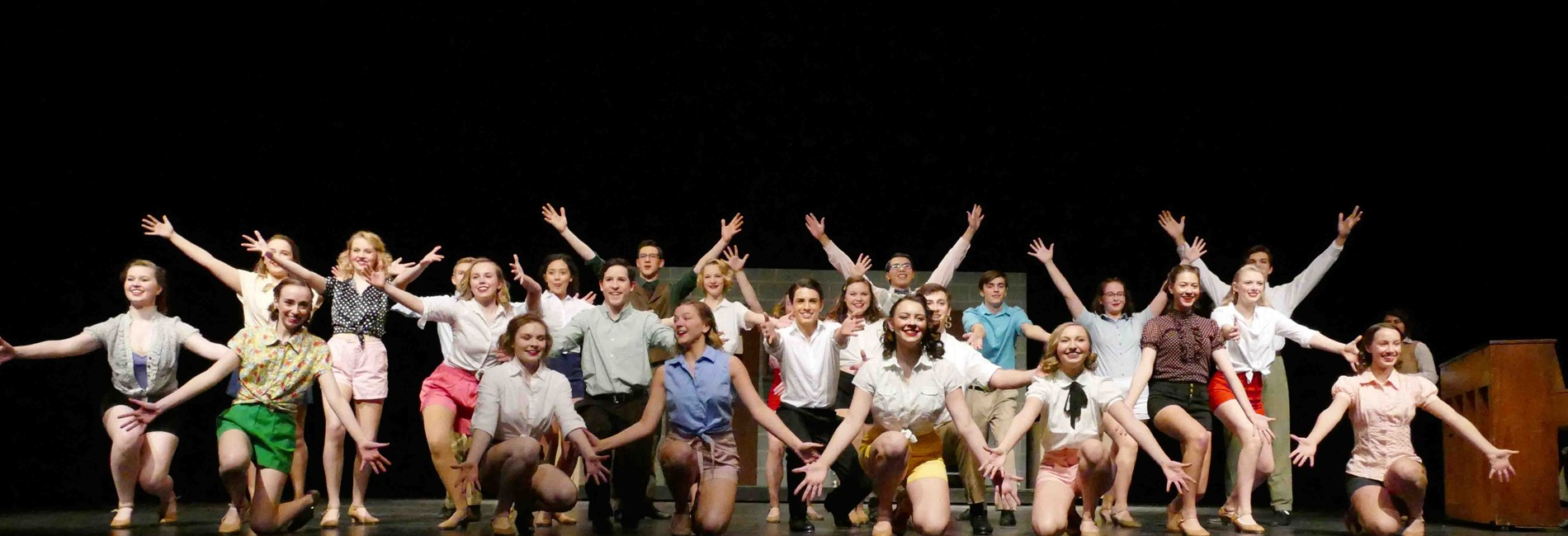 "WHS presents ""42nd Street"""