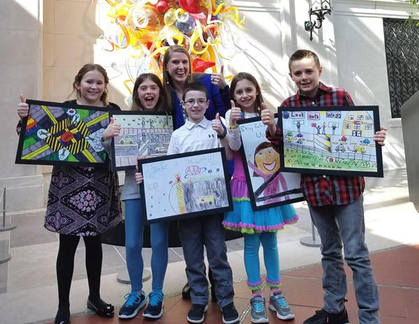 AAA Safety Poster Winners