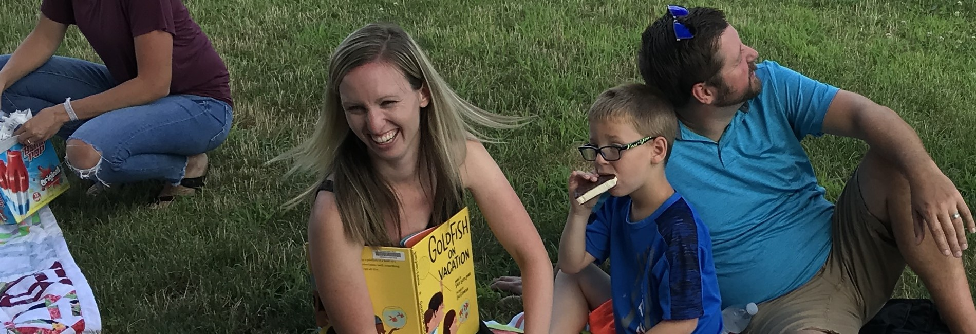 Literacy on the Lawn 2019