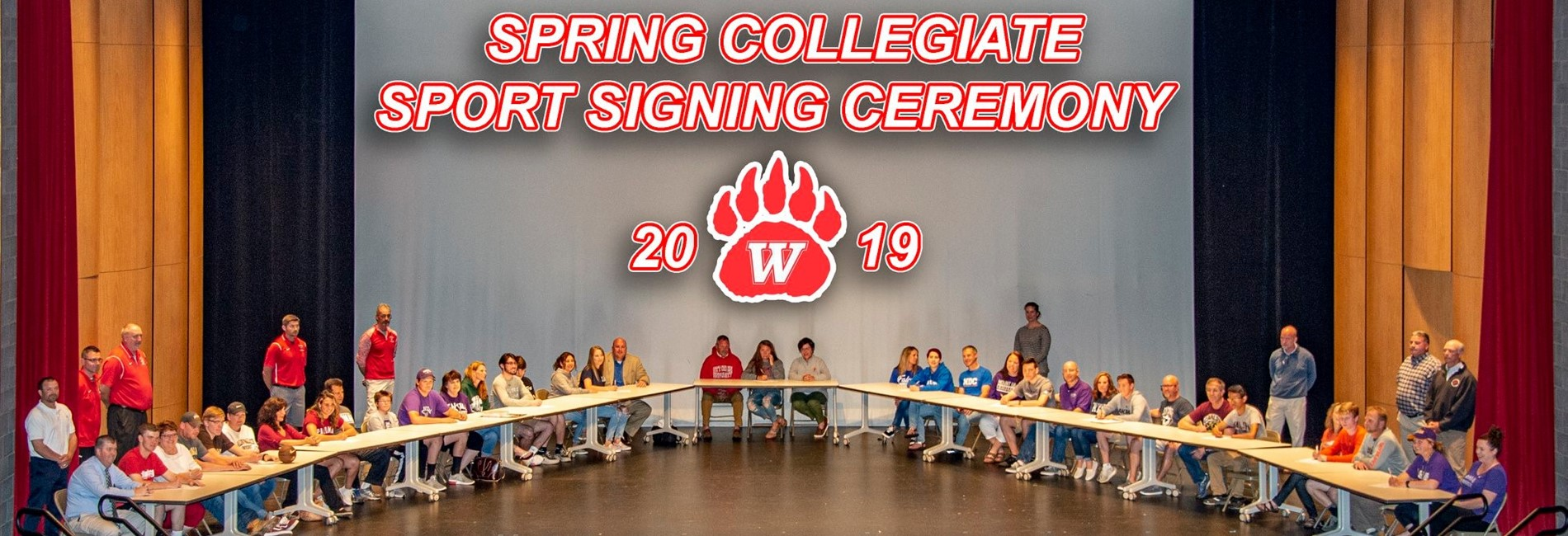 Spring Sports Signing 2019