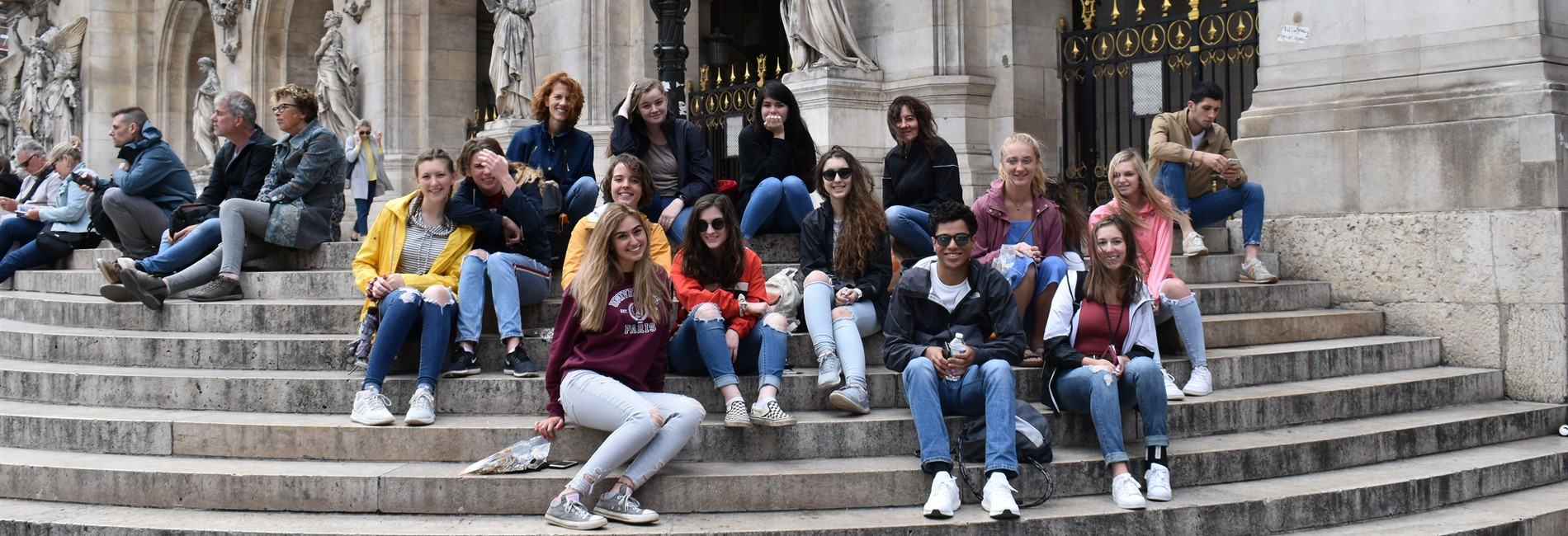 WHS students tour France 2019